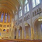 Inside Riverside Church by Graeme  Hyde