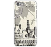 Paris History iPhone Case/Skin