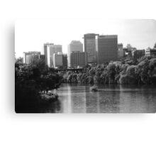 Richmond River City View Canvas Print