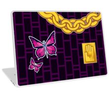 Butterflies and Chains Laptop Skin