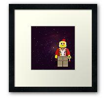 Dr. Who Lego 1-11 Framed Print
