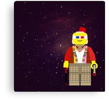 Dr. Who Lego 1-11 Canvas Print