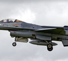 Belgian Air Component General Dynamics F-16AM Sticker