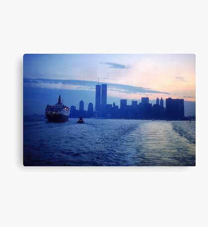 New York City Dawn Canvas Print