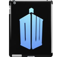 Doctor Who DW Logo  iPad Case/Skin