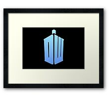 Doctor Who DW Logo  Framed Print