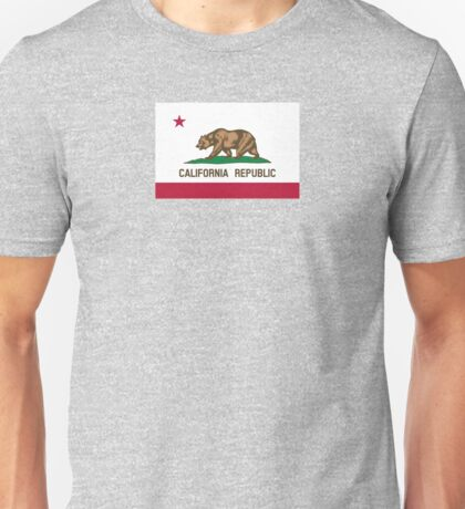 San Francisco Flag of California Unisex T-Shirt
