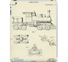 Locomotive Engine-1891 iPad Case/Skin