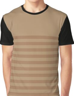 Retro Inspired Striped Iced Coffee Spring 2016 Graphic T-Shirt