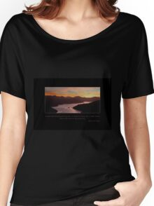 Sunset Sky Women's Relaxed Fit T-Shirt