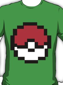 8 bit Pokeball T-Shirt