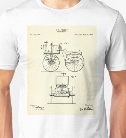Road Engine-1895 Unisex T-Shirt