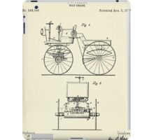 Road Engine-1895 iPad Case/Skin