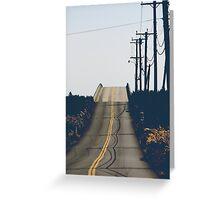 The shadows Greeting Card