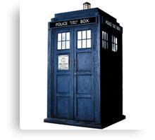 Doctor Who Tardis Call Box  Canvas Print