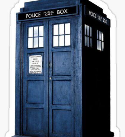 Doctor Who Tardis Call Box  Sticker