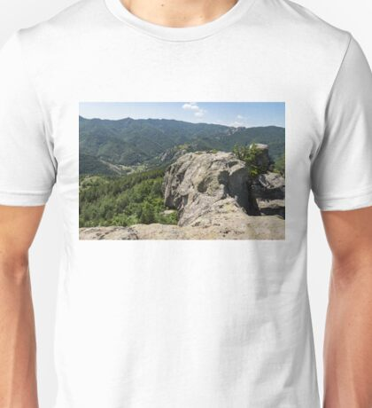 The Spine of the Mountain - Rough Rocks and Vistas Unisex T-Shirt