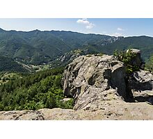 The Spine of the Mountain - Rough Rocks and Vistas Photographic Print