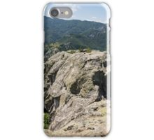 The Spine of the Mountain - Rough Rocks and Vistas iPhone Case/Skin