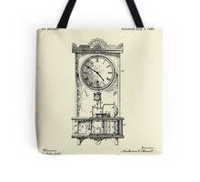 Advertising Clock-1888 Tote Bag