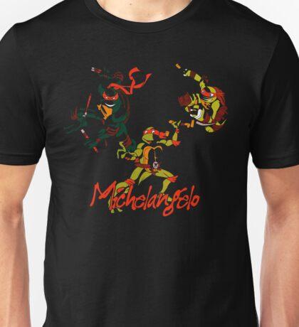 3 X Michelangelo Unisex T-Shirt
