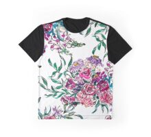 Hand painted flowers Graphic T-Shirt