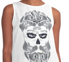 Zombies dont cry! Brutal halloween!  Contrast Tank