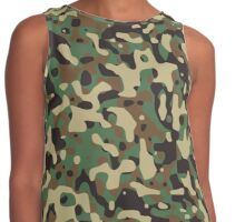 Camouflage, Warfare, War, Jungle, Combat, Hunt, Hunting Contrast Tank