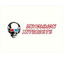 Uncommon Interests Logo 1 Art Print