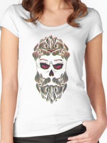 Zombie boy Women's Fitted Scoop T-Shirt
