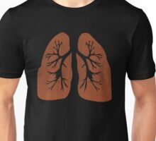 Lungs. Unisex T-Shirt