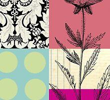 Flower Blocks by artinmotion2014