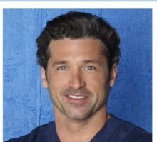 Derek Shepherd Badge - Greys's Anatomy Sticker
