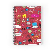 The Social Network Spiral Notebook