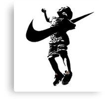 Banksy Nike Canvas Print