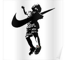 Banksy Nike Poster