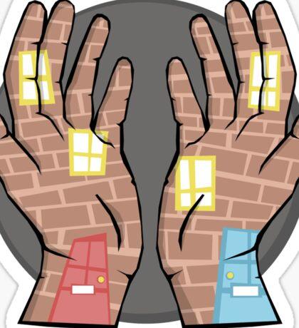 Hands Like Houses Sticker