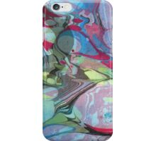 Abstract Painting ; Nebula iPhone Case/Skin