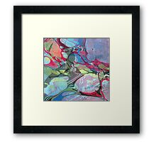 Abstract Painting ; Nebula Framed Print