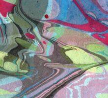 Abstract Painting ; Nebula Sticker