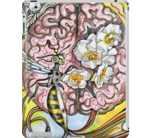 The human brain and a wasp. iPad Case/Skin