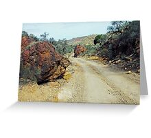 A Road Less Travelled Greeting Card