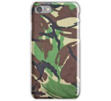Camouflage, British, Army,  Disruptive Pattern Material, iPhone Case/Skin