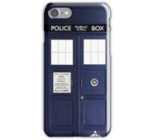 Doctor Who Tardis Phone Case / Poster iPhone Case/Skin