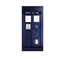 Doctor Who Tardis Phone Case / Poster by ninagi