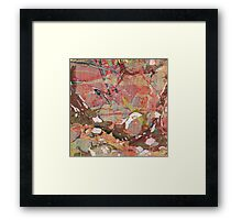 Abstract Painting ; Autumn Framed Print
