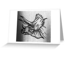 Triceratops! Greeting Card