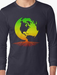 Mother Earth Roots Long Sleeve T-Shirt