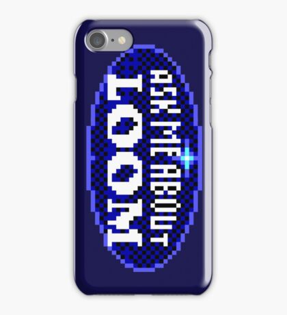 ASK ME ABOUT LOOM - THE SECRET OF MONKEY ISLAND iPhone Case/Skin