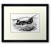 Chinook Helicopter Framed Print